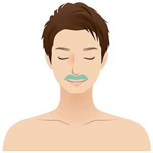 メンズSパーツ鼻の下