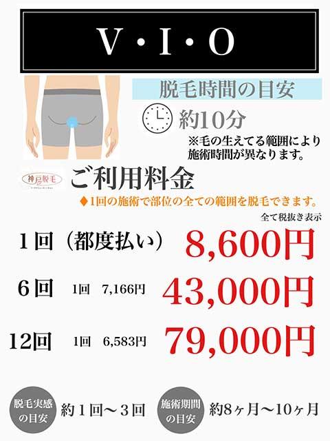 メンズVIO21料金